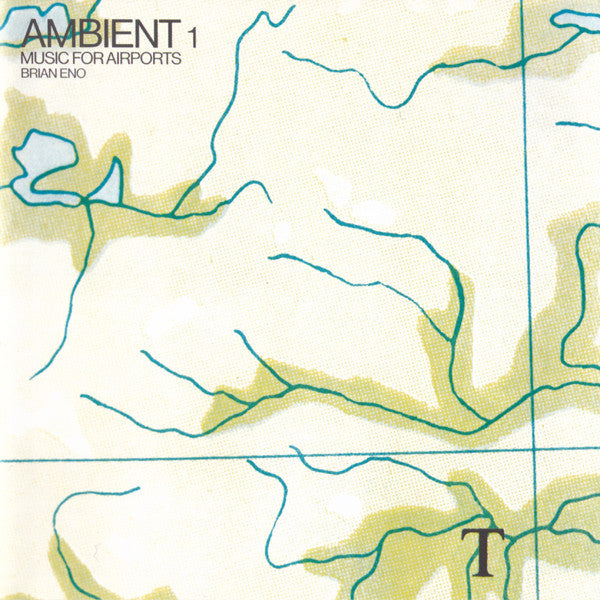 ENO BRIAN-AMBIENT #1 MUSIC FOR AIRPORTS CD VG