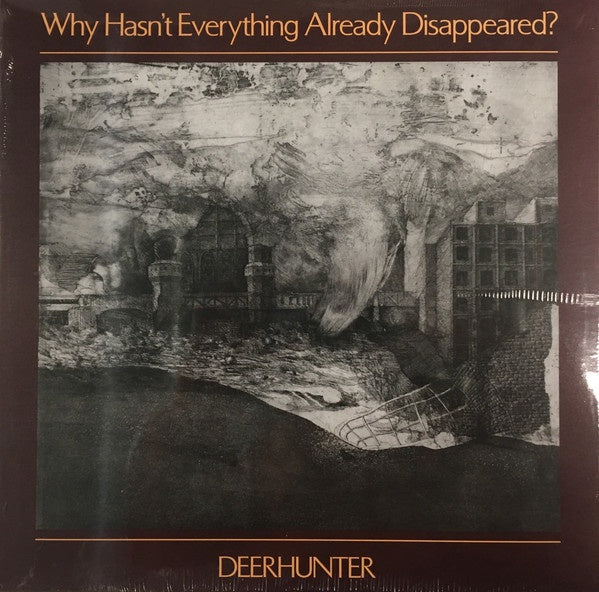 DEERHUNTER-WHY HASN'T EVERYTHING ALREADY DISAPPEARED? GREY VINYL LP *NEW*