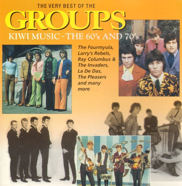 VERY BEST OF THE GROUPS-VARIOUS ARTISTS CD VG
