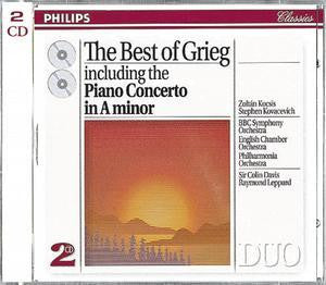 GRIEG EDVARD-THE BEST OF 2CD VG