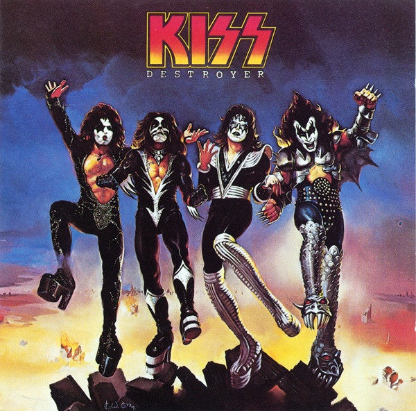 KISS-DESTROYER CD VG