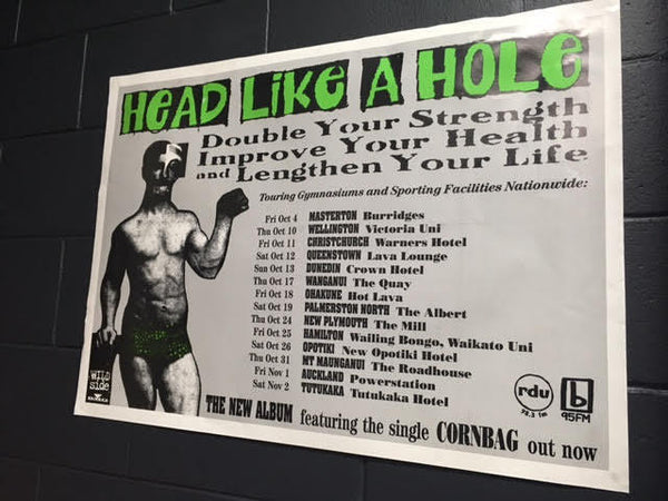 HEAD LIKE A HOLE DOUBLE YOUR STRENGTH POSTER