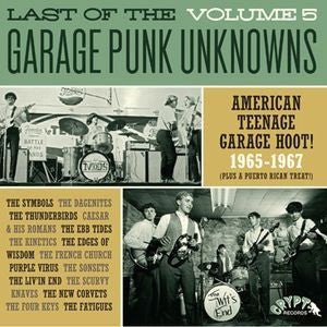 LAST OF THE GARAGE PUNK UNKNOWNS VOL.5-VARIOUS LP *NEW*