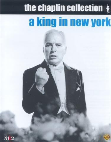 A KING IN NEW YORK DVD VG
