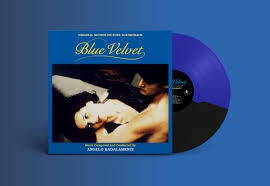 BADALAMENTI ANGELO-BLUE VELVET OST BLUE/ BLACK SPLIT LP *NEW*
