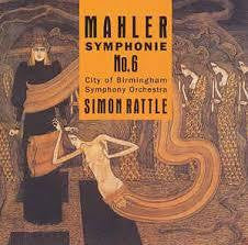 MAHLER - SYMPHONIE NO 6 SIMON RATTLE 2CD VG+