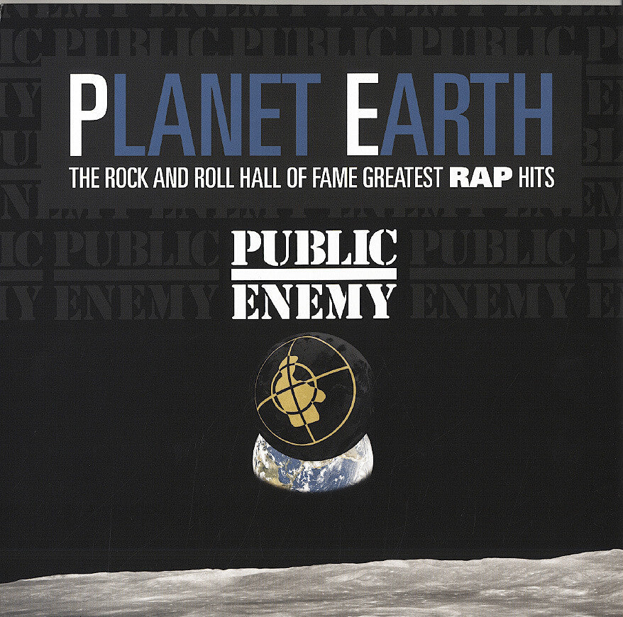 PUBLIC ENEMY-PLANET EARTH GREATEST HITS LP *NEW*
