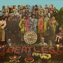 BEATLES THE-SGT PEPPER'S LONELY HEARTS CLUB BAND PICTURE DISC LP NM COVER VG+