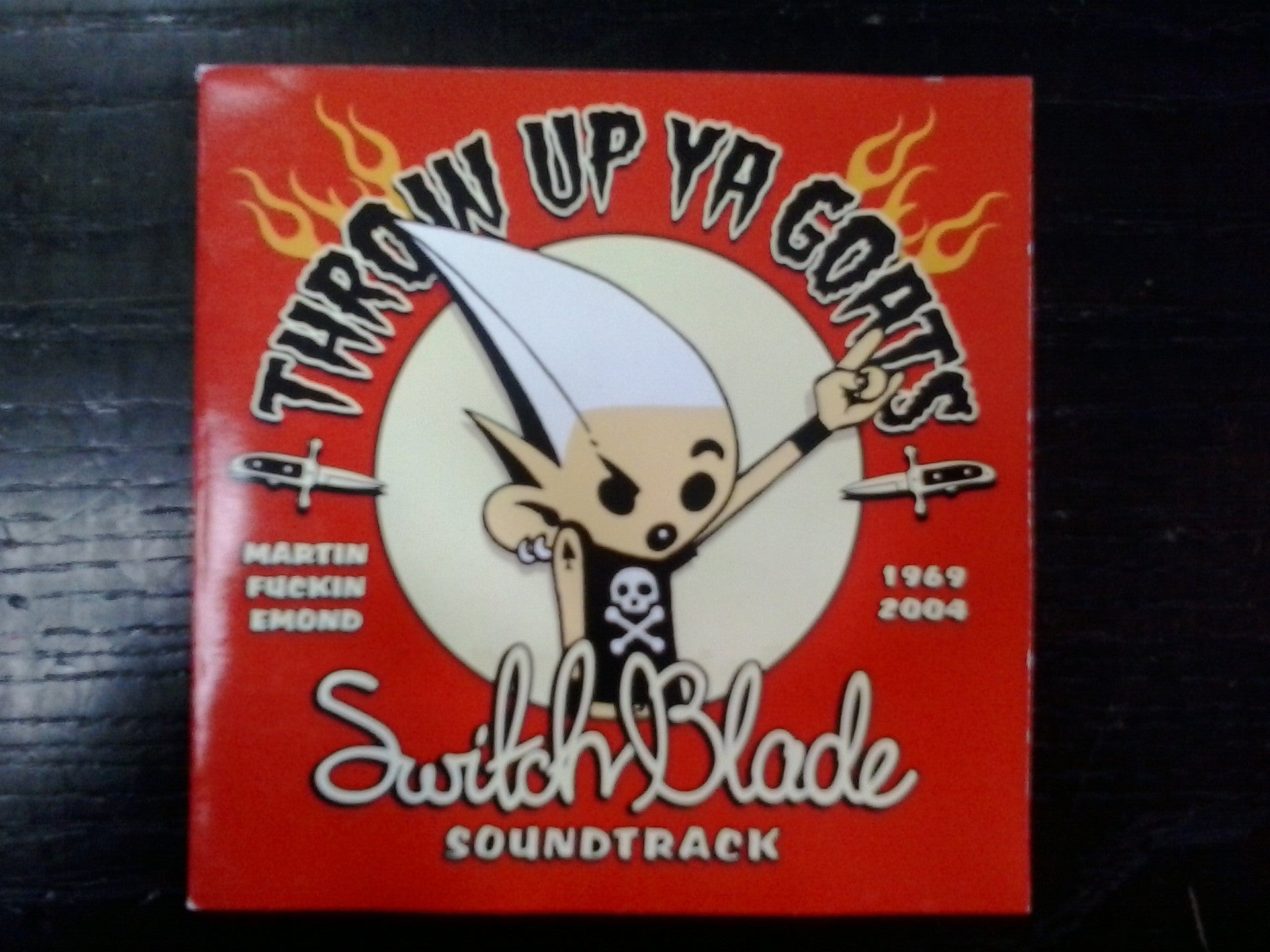 SWITCHBLADE SOUNDTRACK-THROW UP YA GOATS-VARIOUS CD G