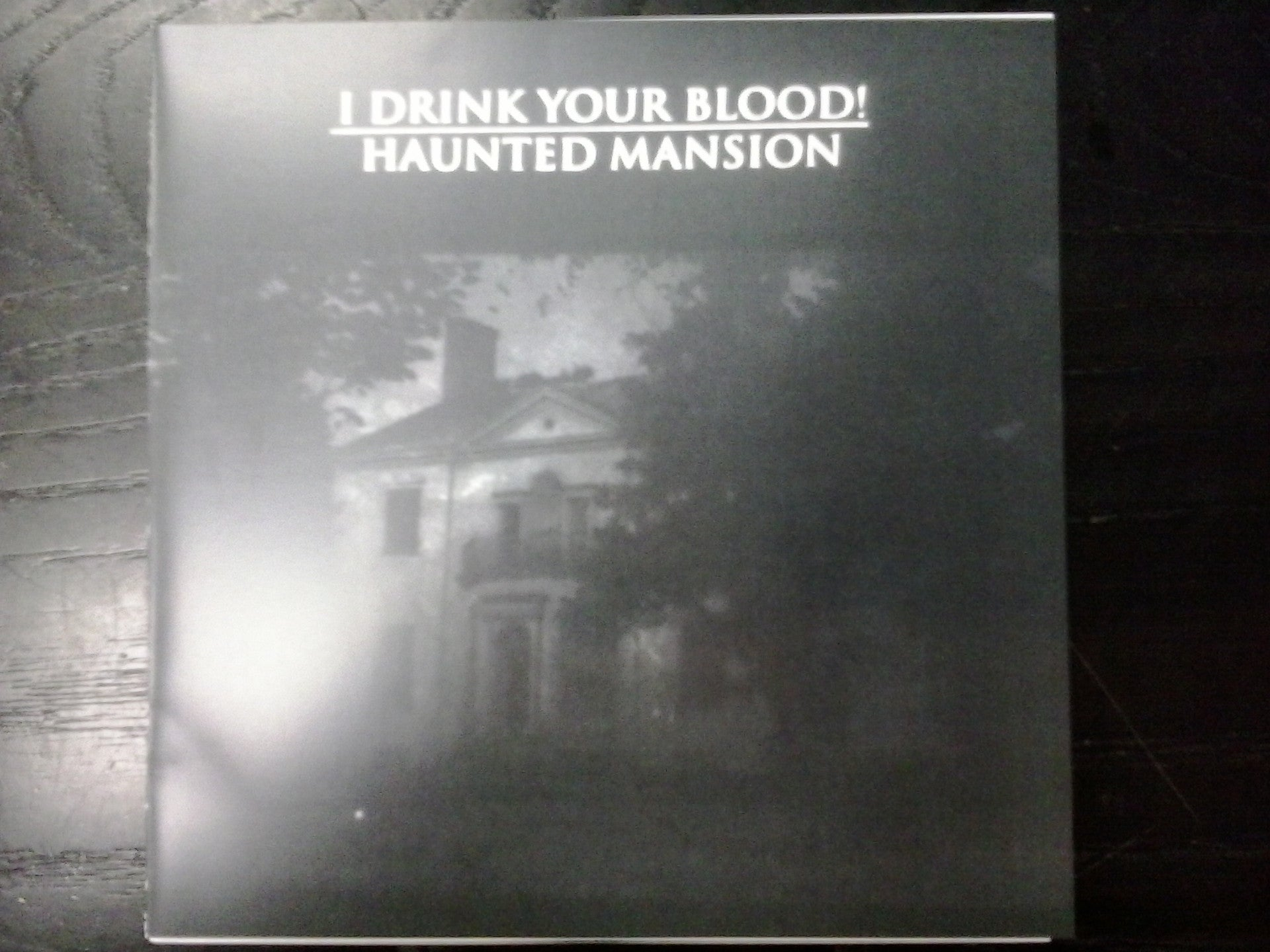 "I DRINK YOUR BLOOD!-HAUNTED MANSION 7"" *NEW*"