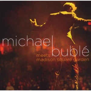 BUBLE MICHAEL-MEETS MADISON SQUARE GARDEN CD+DVD  VG