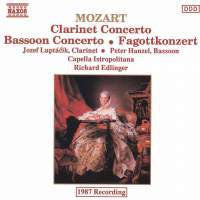 MOZART-CLARINET AND BASSOON CONCERTOS CD G