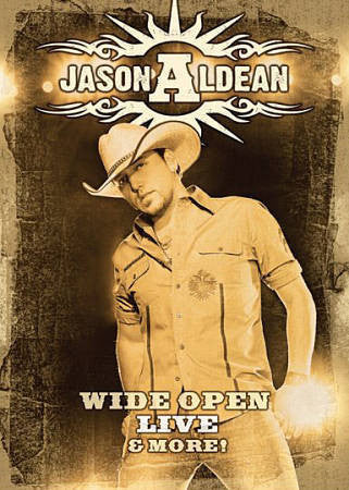 ALDEAN JASON-WIDE OPEN LIVE & MORE! DVD *NEW*