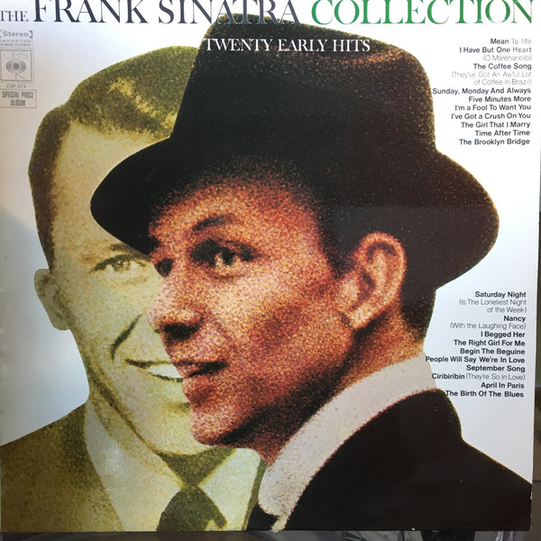 SINATRA FRANK-COLLECTION 20 EARLY HITS LP VG+ COVER VG+