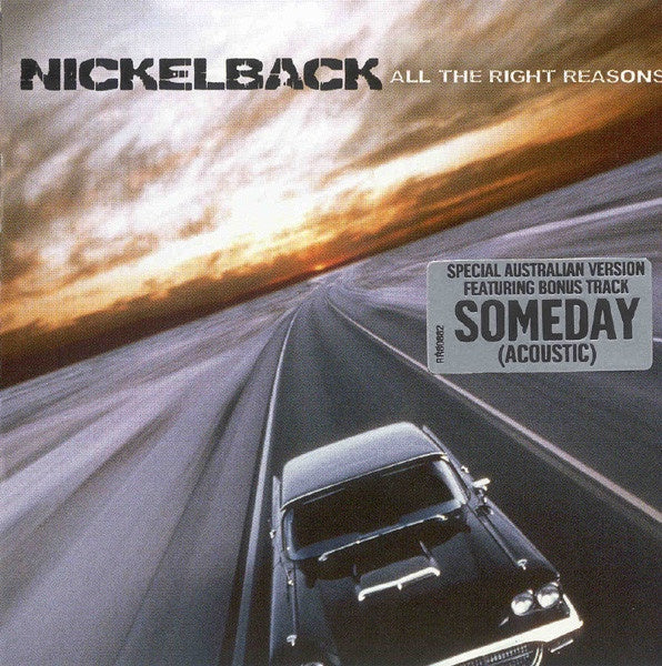 NICKELBACK-ALL THE RIGHT REASONS CD VG