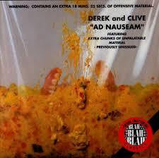 DEREK AND CLIVE-AD NAUSEAM CD *NEW*