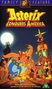 ASTERIX CONQUERS AMERICA DVD VG