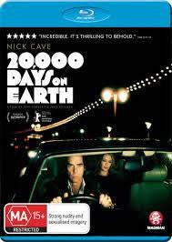 CAVE NICK-20,000 DAYS ON EARTH BLURAY VG+