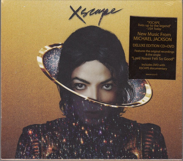 JACKSON MICHAEL-XSCAPE DELUXE EDITION CD + DVD G