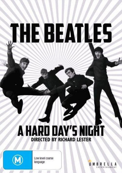 BEATLES THE-A HARD DAYS NIGHT DVD VG