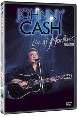 CASH JOHNNY-LIVE AT MONTREUX 1994 DVD VG