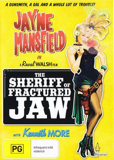 THE SHERIFF OF FRACTURED JAW DVD VG