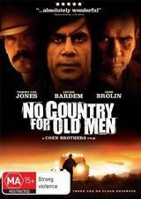 NO COUNTRY FOR OLD MEN DVD VG