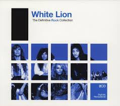 WHITE LION-DEFINITIVE ROCK COLLECTION 2CD VG