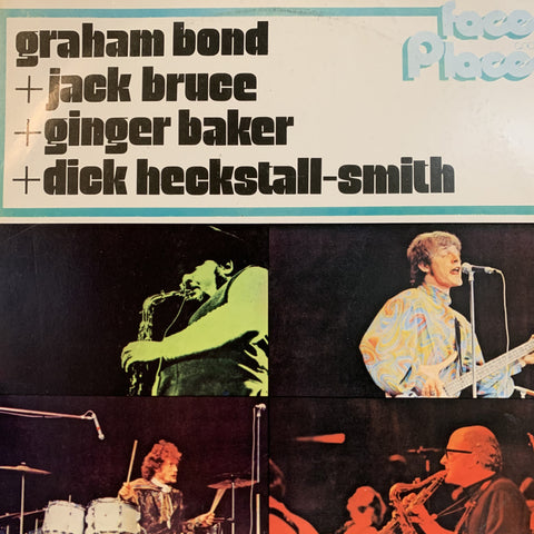 BOND GRAHAM-FACES & PLACES LP VG+ COVER VG+