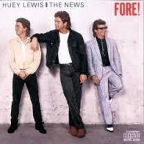 LEWIS HUEY & THE NEWS-FORE! LP VG CIVER VG+