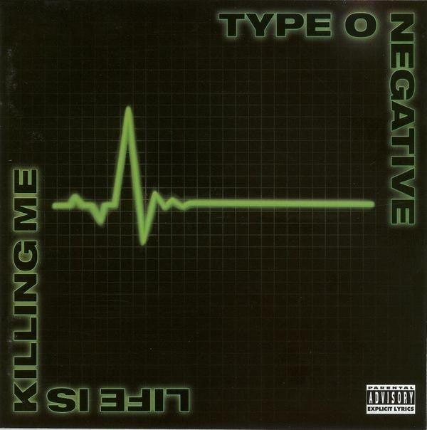 TYPE O NEGATIVE - LIFE IS KILLING ME CD VG