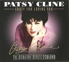 CLINE PATSY-CRAZY FOR LOVING YOU 2CD+DVD *NEW*