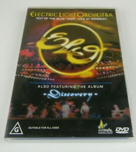 ELECTRIC LIGHT ORCHESTRA-OUT OF THE BLUE TOUR DVD VG
