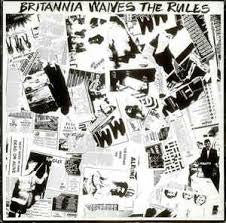 "BRITANNIA WAIVES THE RULES-VARIOUS ARTISTS 12"" EP VG COVER VG+"