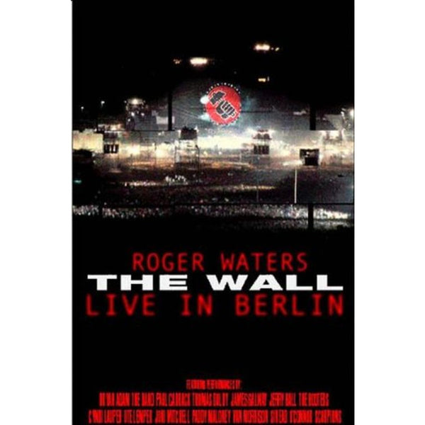 WATERS ROGER-THE WALL LIVE IN BERLIN DVD VG