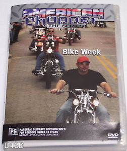 AMERICAN CHOPPER THE SERIES BIKE WEEK DVD M