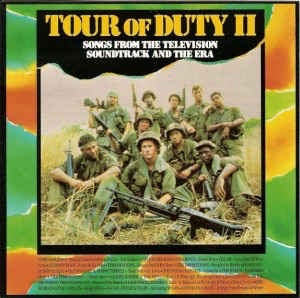TOUR OF DUTY II-VARIOUS ARTISTS LP VG COVER VG+