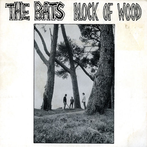 "BATS THE-BLOCK OF WOOD 7"" VG COVER G"