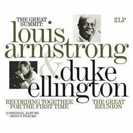 ARMSTRONG LOUIS & DUKE ELLINGTON-THE GREAT SUMMIT 2LP *NEW*