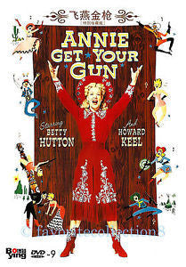 ANNIE GET YOUR GUN DVD VG