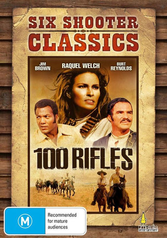 100 RIFLES DVD VG
