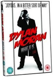DYLAN MORAN WHAT IT IS LIVE REGION 2 AND 4 DVD G