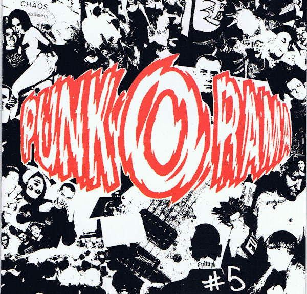PUNK-O-RAMA #5-VARIOUS ARTISTS CD VG