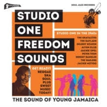 STUDIO ONE FREEDOM SOUNDS-VARIOUS ARTISTS 2LP *NEW*
