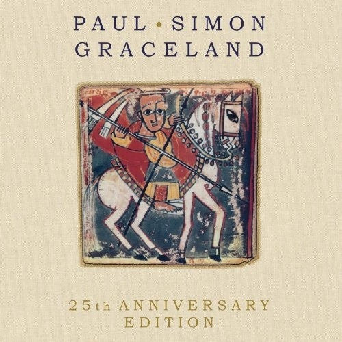 SIMON PAUL-GRACELAND 25TH ANNIVERSARY EDITION CD+DVD VG
