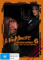 A NIGHTMARE ON ELM STREET 6-FREDDY'S DEAD THE FINAL NIGHTMARE DVD VG