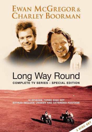 LONG WAY ROUND COMPLETE SERIES SPECIAL EDITION 3DVD G