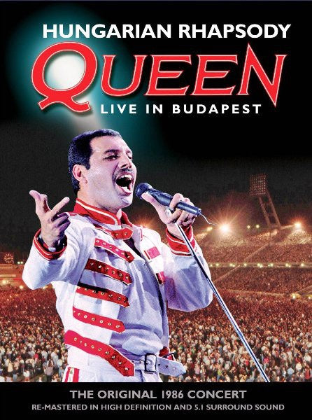 QUEEN-HUNGARIAN RHAPSODY LIVE IN BUDAPEST DVD  VG