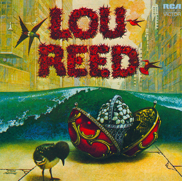 REED LOU-LOU REED LP VG COVER VG+