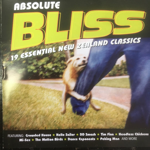 ABSOLUTE BLISS: 19 ESSENTIAL NEW ZEALAND CLASSICS CD VG